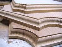 french corner cedar house plaques