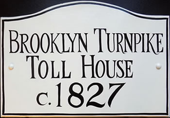historic house sign